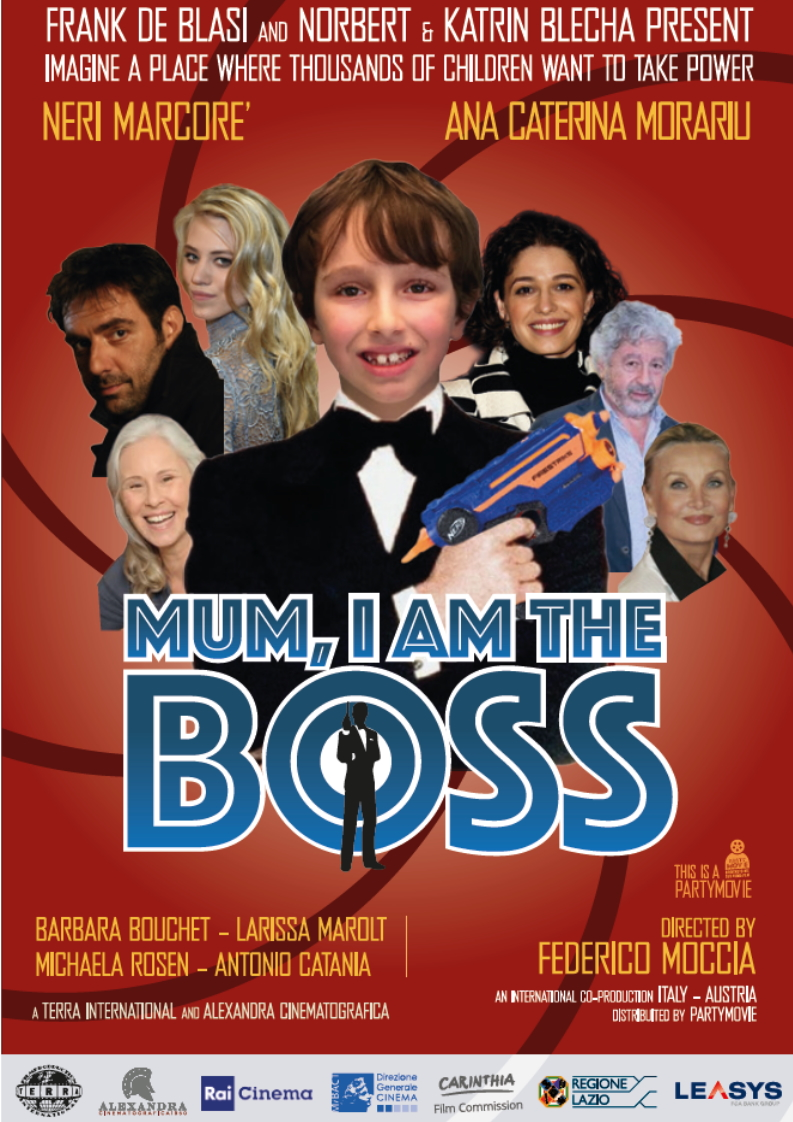 Mum, I am the boss